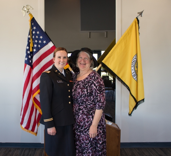 Professor Depalma, She is over the nursing program and has been a great support system for me during ROTC and nursing school.